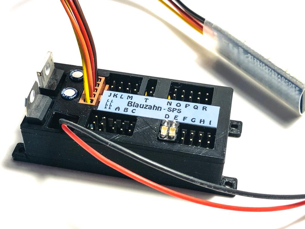 der RX4-19 mit Antenne